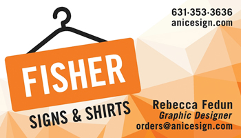 Fisher Signs and Shirts